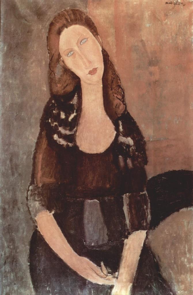 """""""Ritratto di Jeanne Hébuterne"""", 1918."""