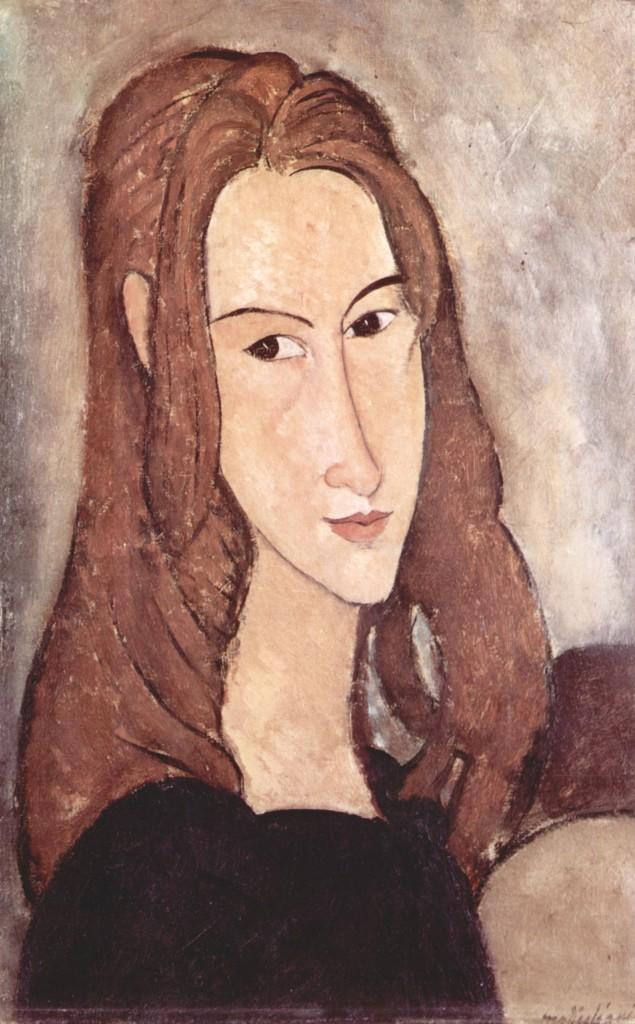 Ritratto di Jeanne Hébuterne.