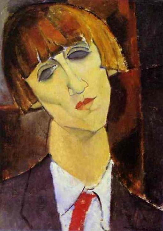 """Madame Kisling"", 1917."