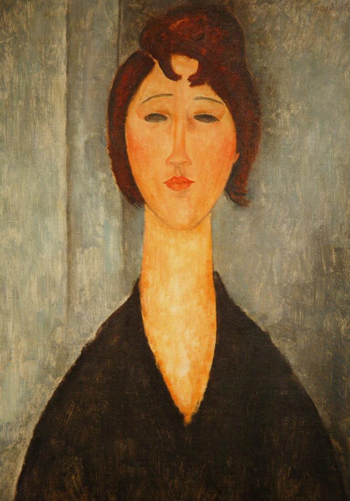 """""""Ritratto di una giovane donna"""", 1918."""