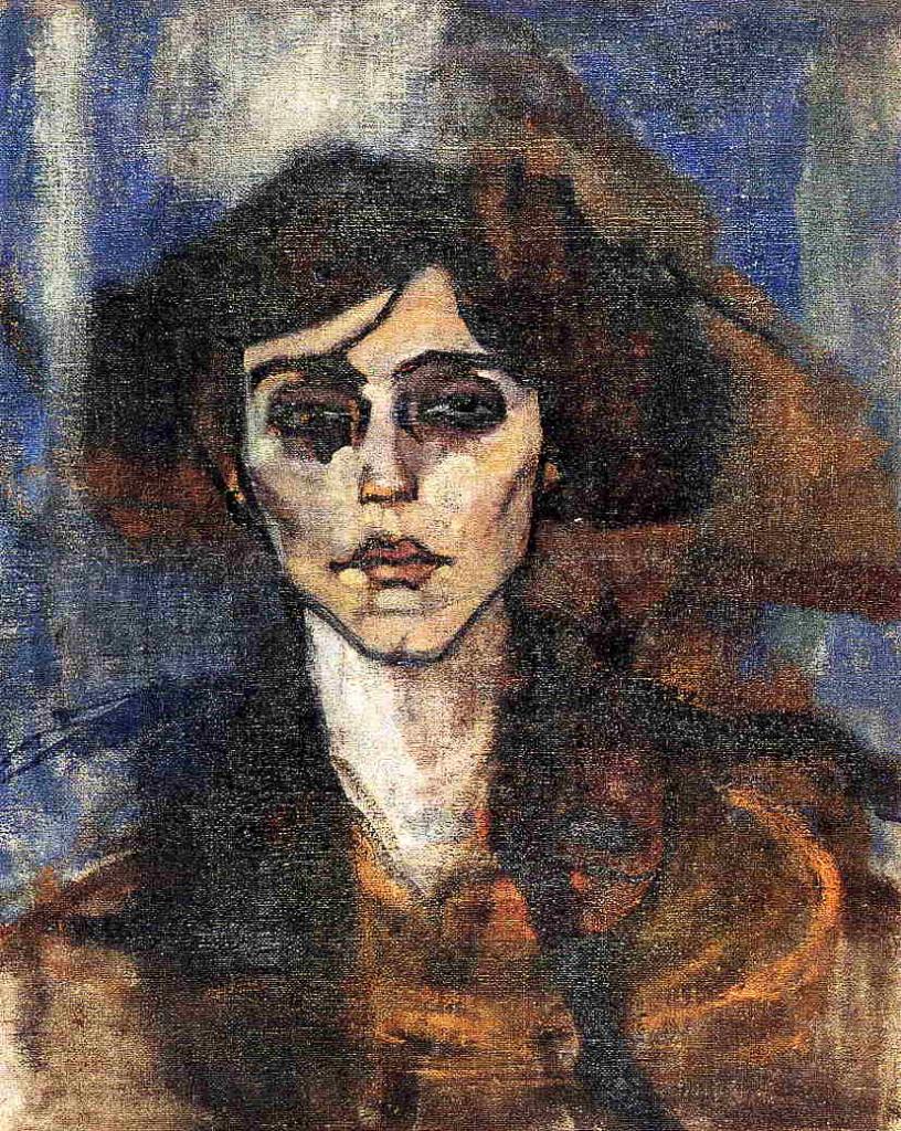 """""""Ritratto di Maude Abrantes"""", 1907."""