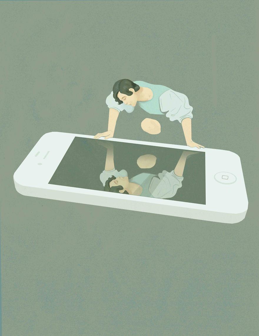 """""""Il narcisismo dei social media""""."""