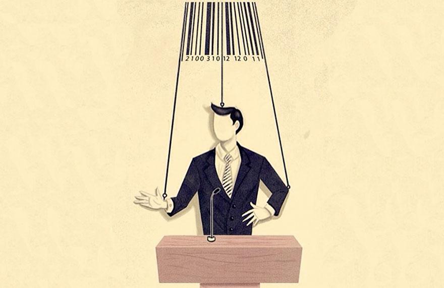"""""""Potere finanziario e politica"""", Marco Melgrati."""