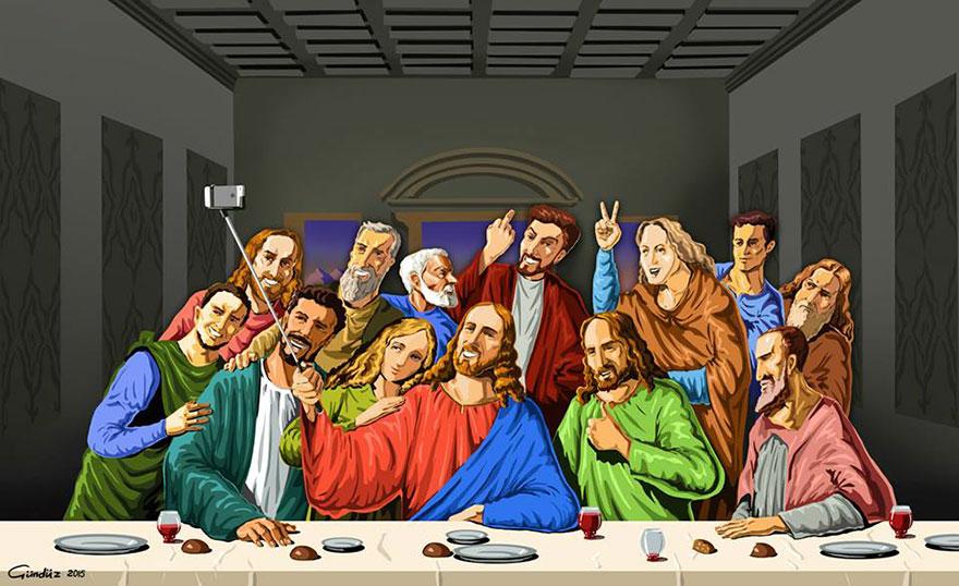 """Holy Selfie"", Gunduz Agayev."