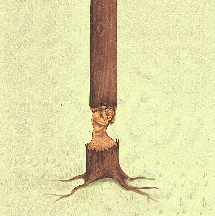 """Deforestazione: i costi umani"", Marco Melgrati."