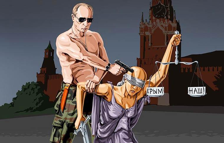 """La giustizia è morta"", Gunduz Agayev."