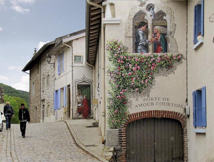 """""""Porte de l'amour courtois"""""""