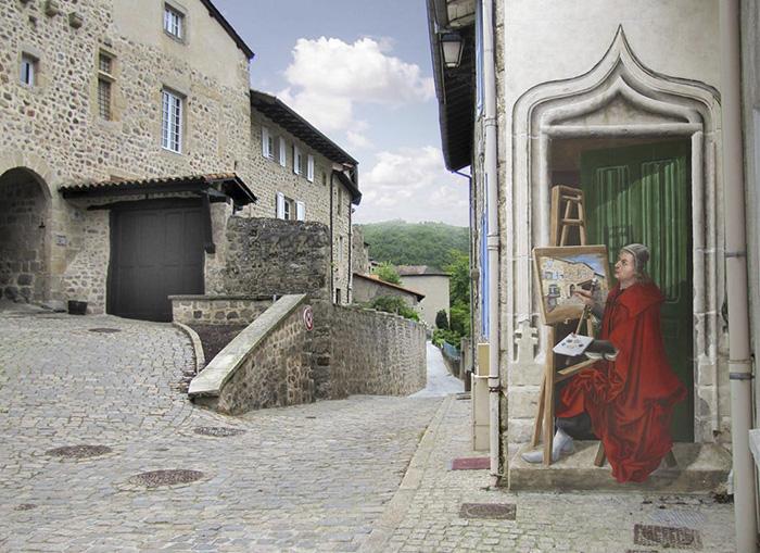 """""""Porte de l'amour courtois"""" (Dettaglio)"""