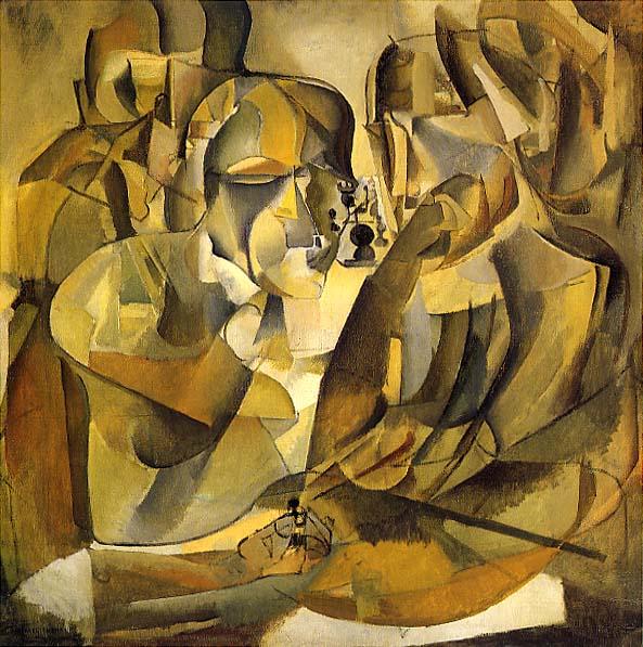 """""""Ritratto di giocatori di scacchi"""", Marcel Duchamp."""