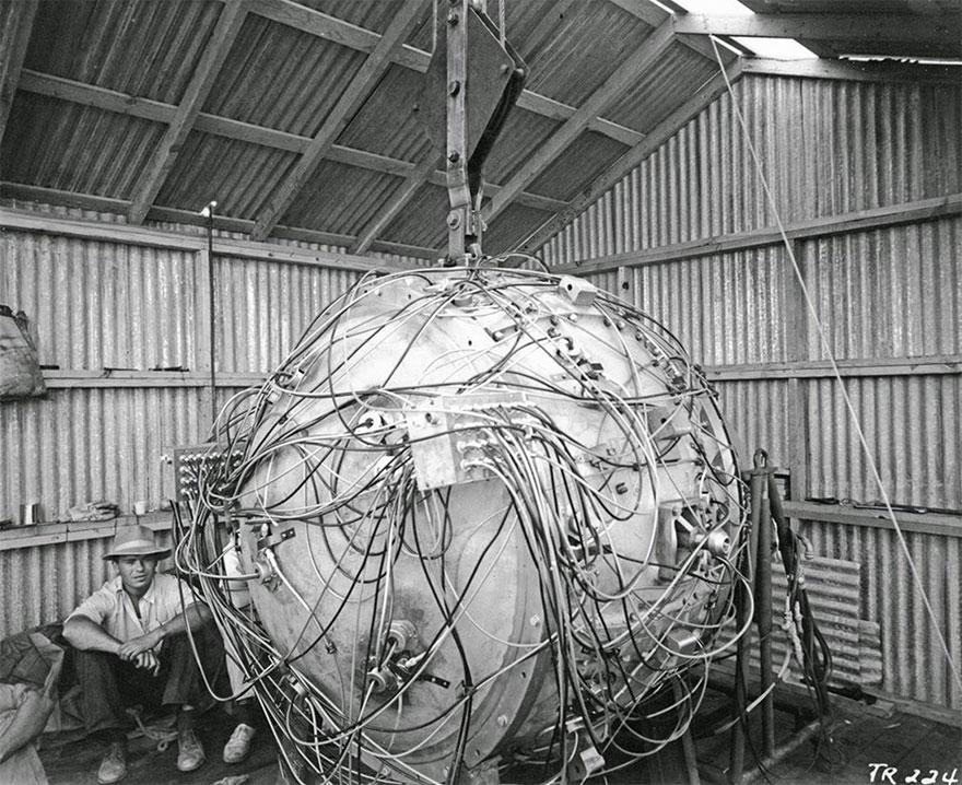 La prima bomba atomica, 1945. Los Alamos National Laboratory.