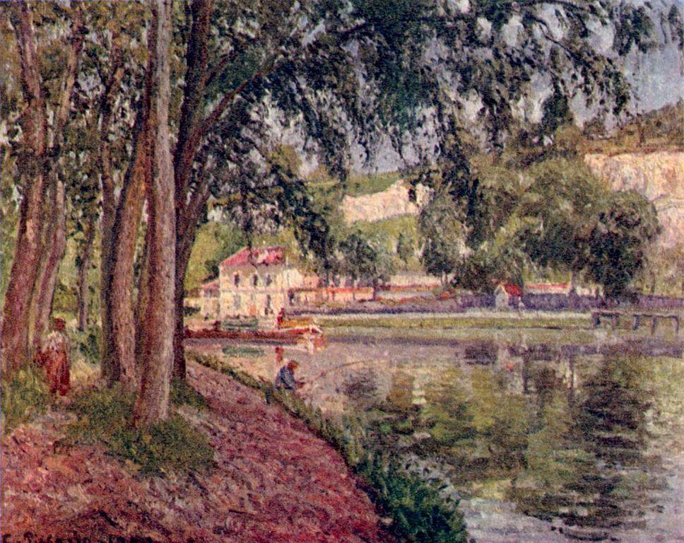 """""""Chemin de halage à Saint-Mammès"""", 1902."""