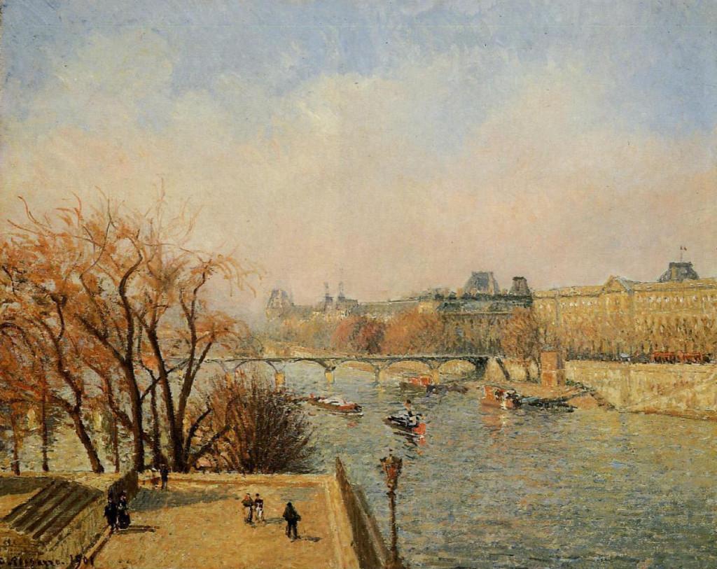"""""""Le Louvre"""", 1901."""