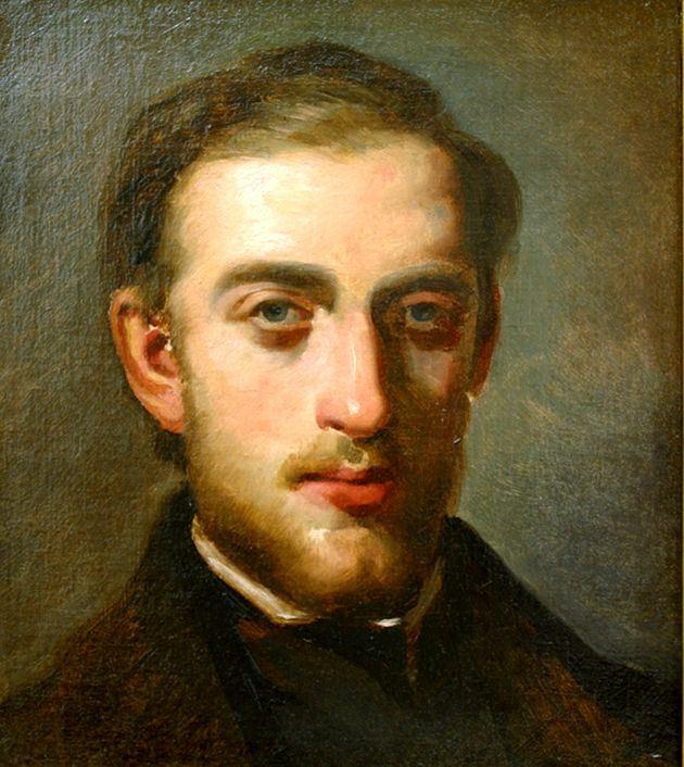 Ritratto di Fritz Melbye, 1852-1854.