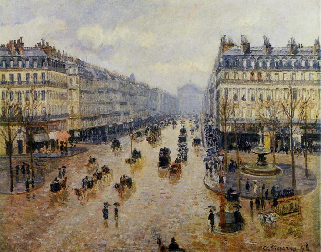"""Avenue de l'Opera Rain Effect"", 1898."