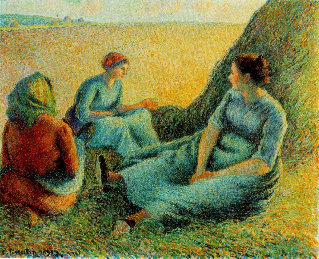 """""""Haymakers Resting"""", 1891."""