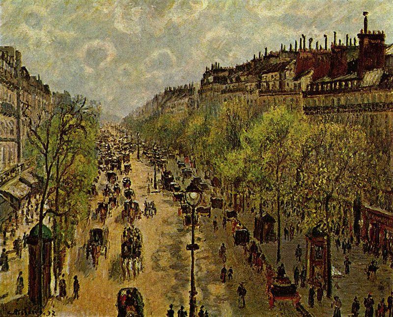 """Boulevard Montmartre, primavera"", 1897."
