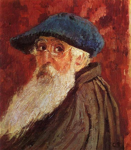 Autoritratto, 1900.