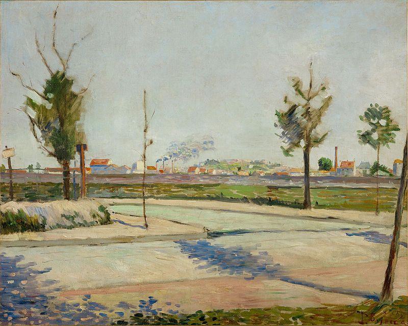 """""""Road to Gennevilliers"""", 1883, Musée d'Orsay, Paris."""