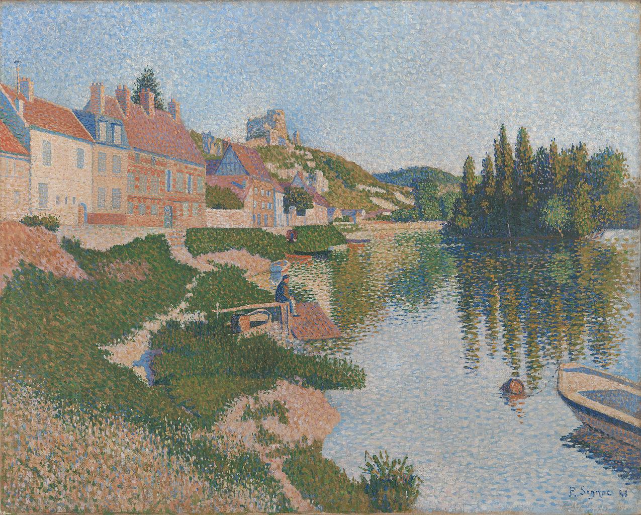 """""""Les Andelys"""", 1886."""