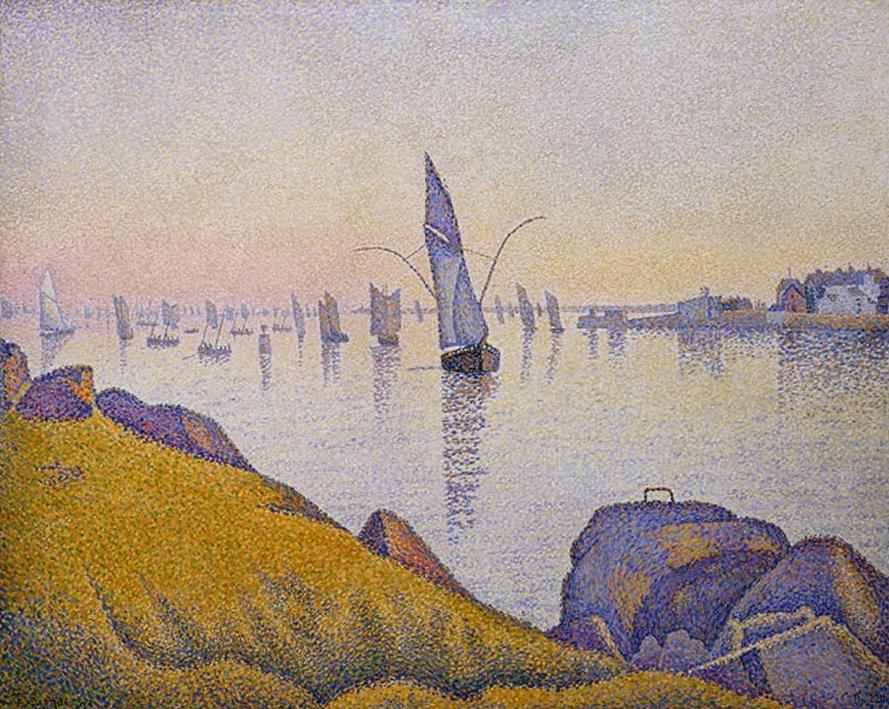 """Concarneau. Calme du soir"" (1891). New York, Metropolitan Museum of Art."