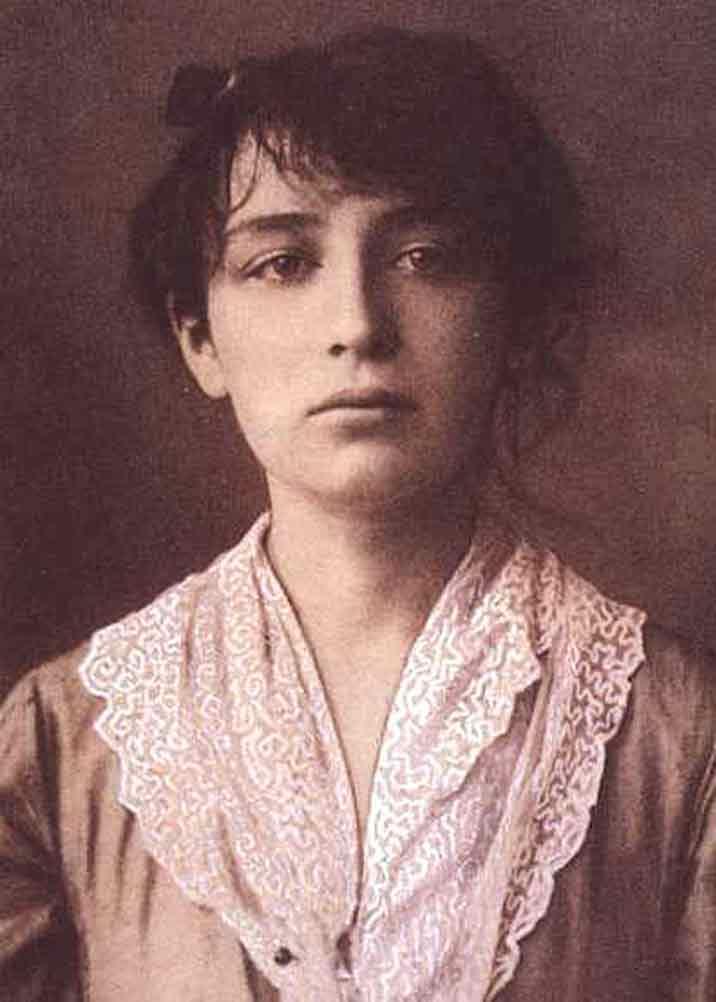 Una giovane Alda Merini.