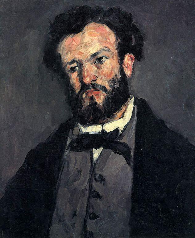 """""""Ritratto di Anthony Valabrègue"""", 1866."""