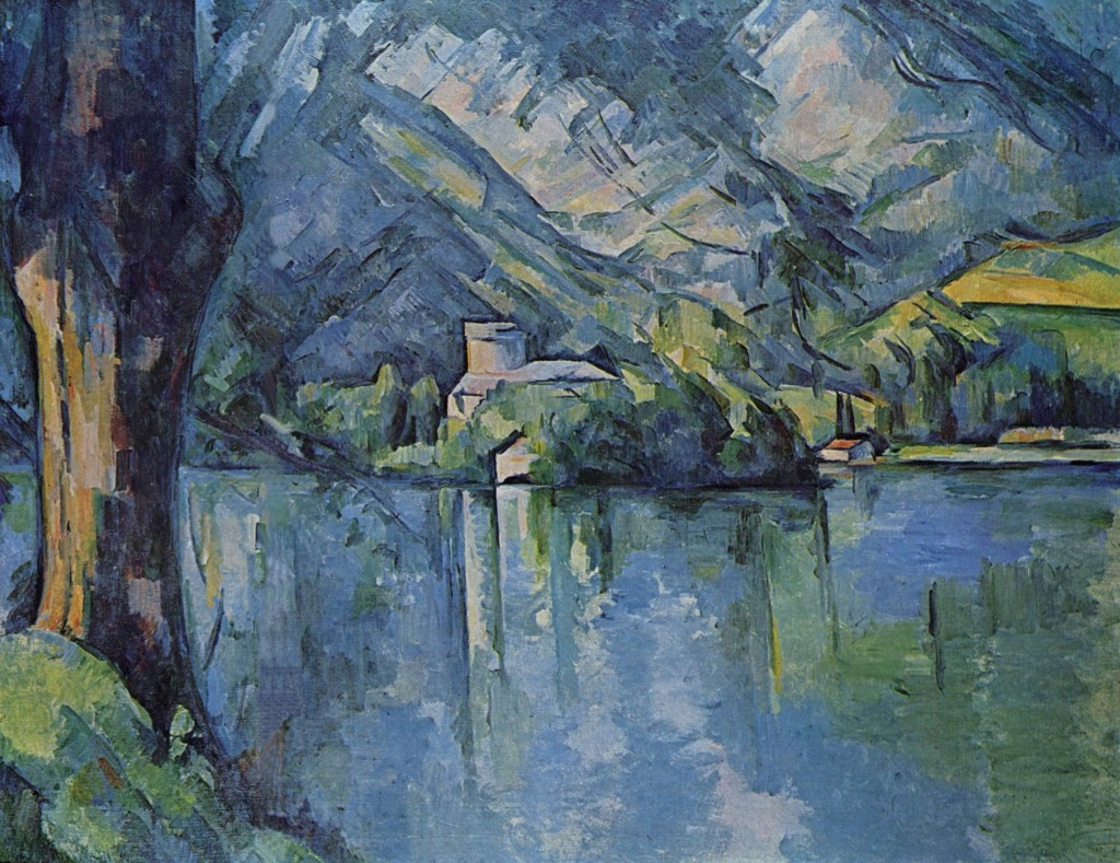 """Il lago di Annecy"", 1896. Londra, Courtauld Institute Galleries."