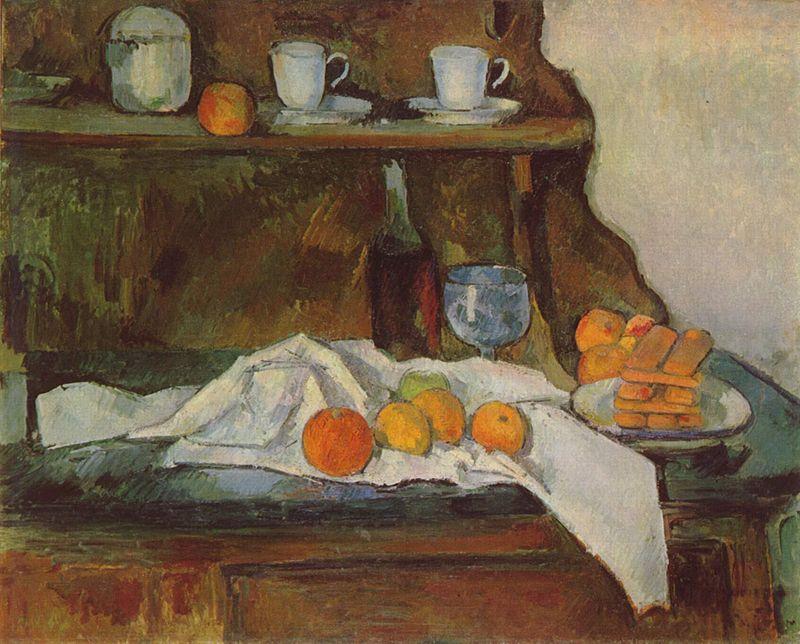 """""""Il buffet"""", 1873."""