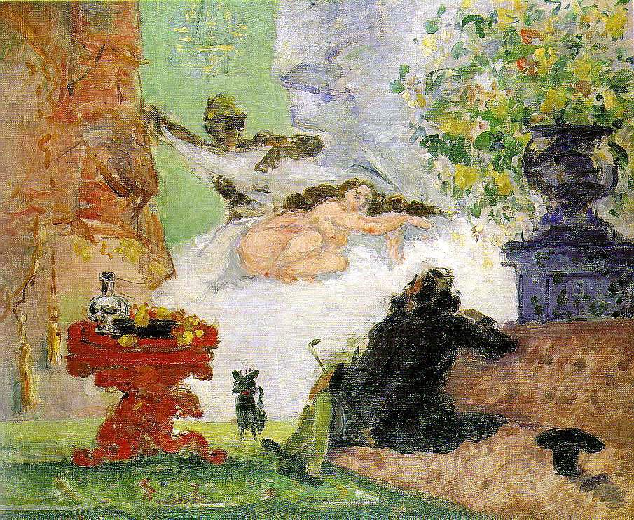 """""""Una moderna Olympia"""", 1873-1874. Musée d'Orsay, Parigi."""