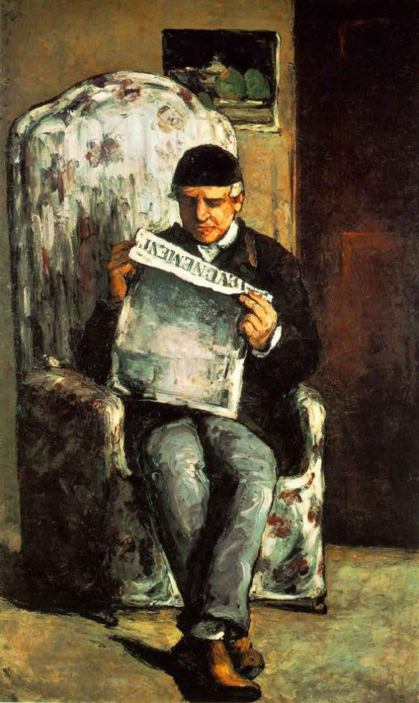 """Ritratto di Louis-Auguste Cézanne"", 1866. Washington, National Gallery of Art."
