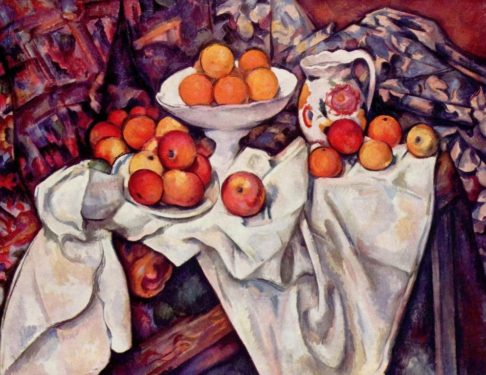 """Natura morta con mele e arance"", 1899. Musèe d'Orsay di Parigi"