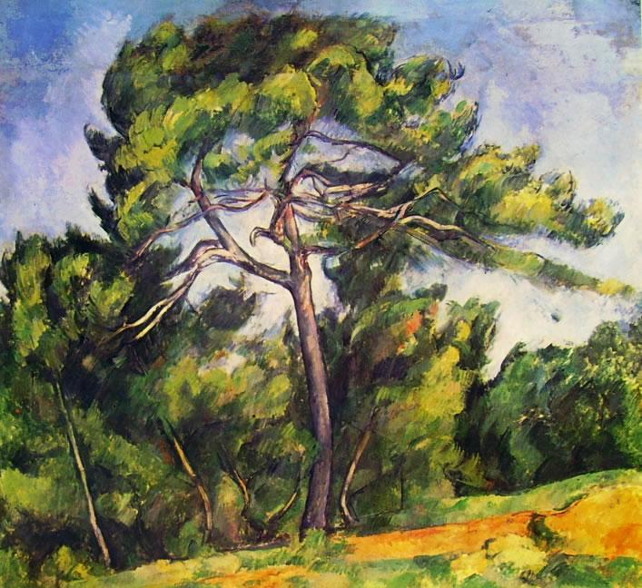 """""""Il grande pino"""", 1892-1896. San Paolo del Brasile, Museu de Arte."""