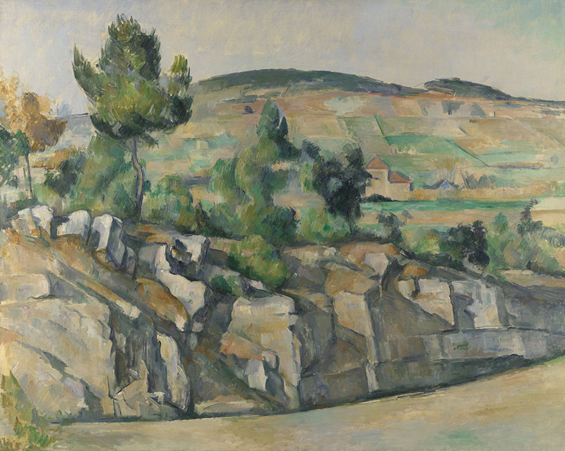 """Collina in Provenza"", 1890-1892. National Gallery, Londra."