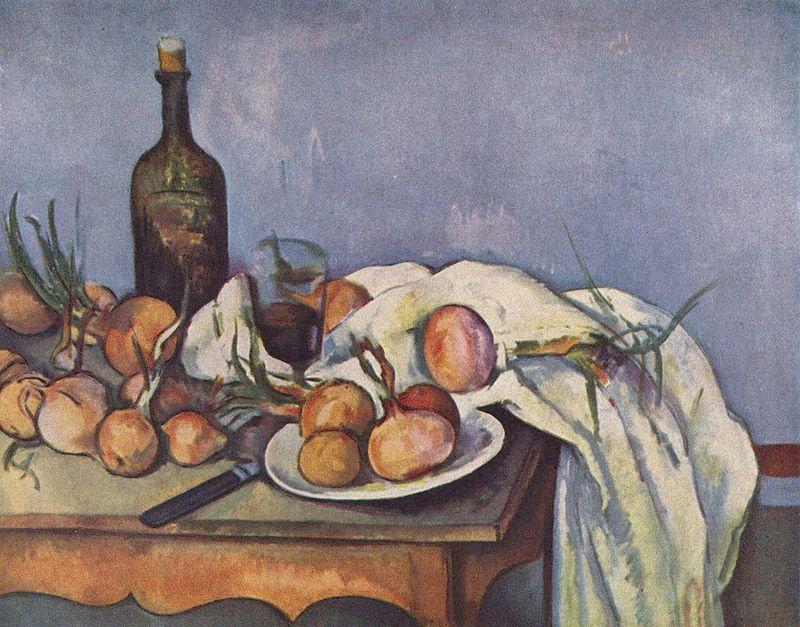 """""""Natura morta con cipolle"""", 1896-1898. Musée d'Orsay, Parigi."""