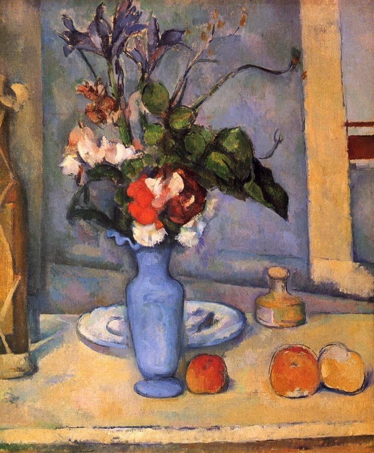 """Vaso blu"", 1886. Musée d'Orsay, Parigi."