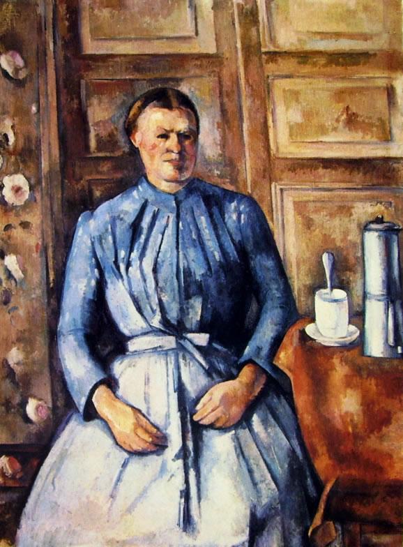 """Donna con caffettiera"" (1890-1895), Musée d'Orsay, Parigi."