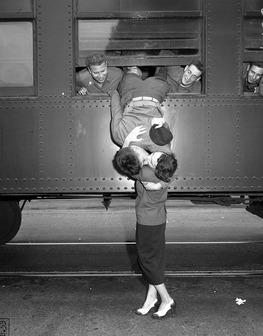 Los Angeles, 6 settembre 1950. Guerra di Corea. notbob1959.