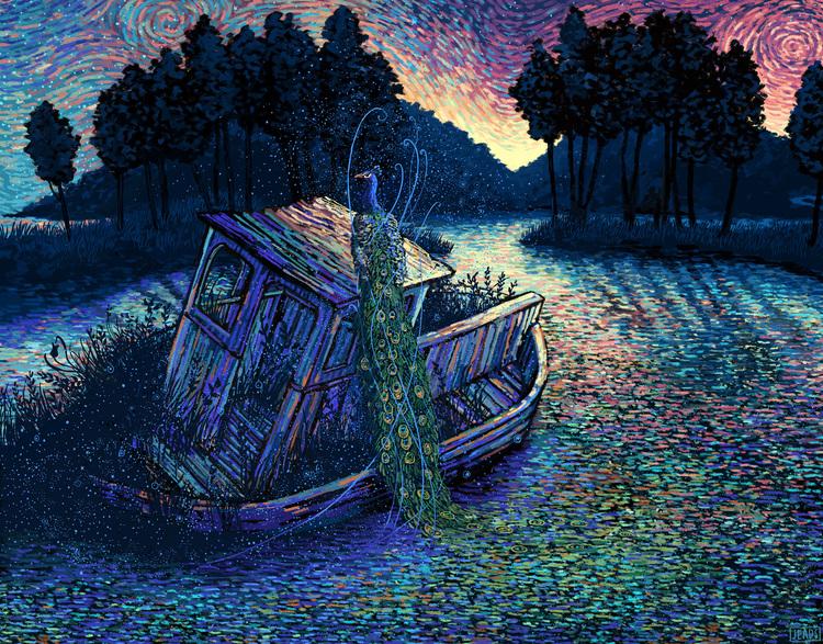 """""""The Truth About Magic"""", percorso esplorativo dell'artista impressionista James R. Eads."""