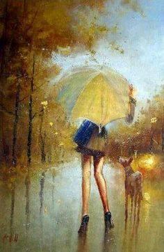 """[…] Le parole ci stancano, risalgono da un'acqua lapidata; forse il cuore ci resta, forse il cuore… Salvatore Quasimodo, Forse il cuore da """"Giorno dopo giorno."""" Dipinto di Igor Medvedev."""
