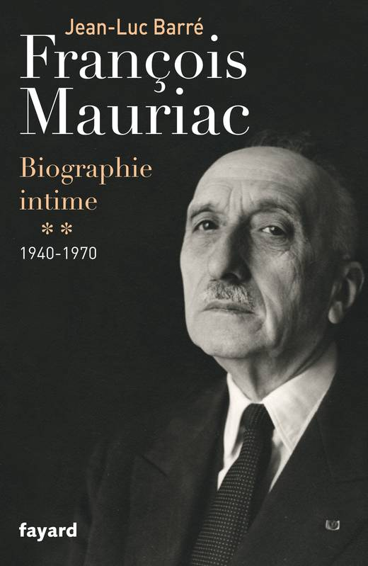 "Copertina del libro ""François Mauriac. Biographie intime, 1940-1970 (Documents)""."