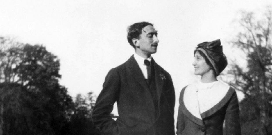 François Mauriac insieme a Jeanne Lafon.