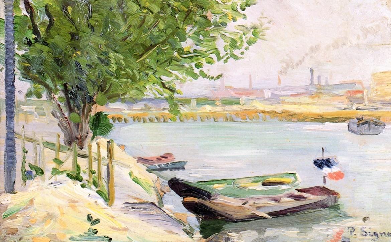 """""""Asnieres"""", 1882. Collezione privata."""