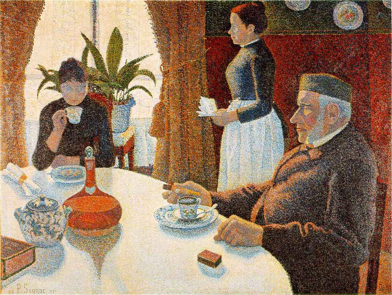 """The Dining Room"", 1886-1887. Kröller-Müller Museum (Netherlands - Otterlo)."