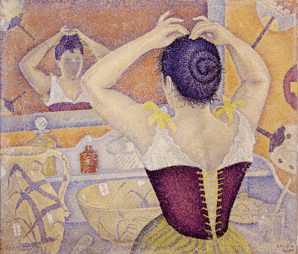 """""""Femme se coiffant"""", 1892. Musée d'Orsay."""