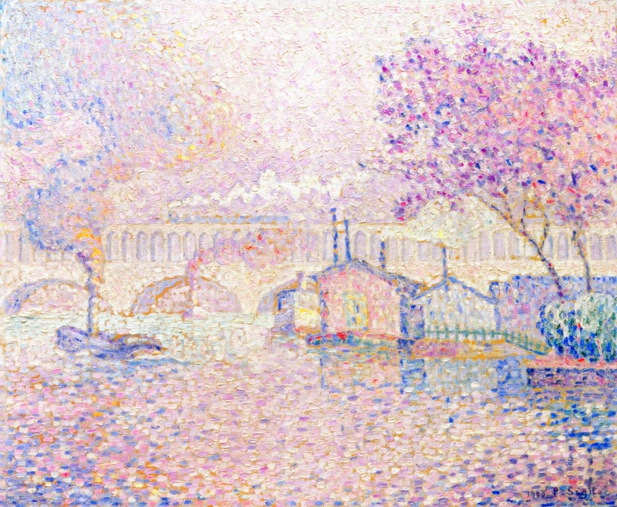 """""""The Auteuil Viaduct"""", 1899-1900. Collezione privata."""