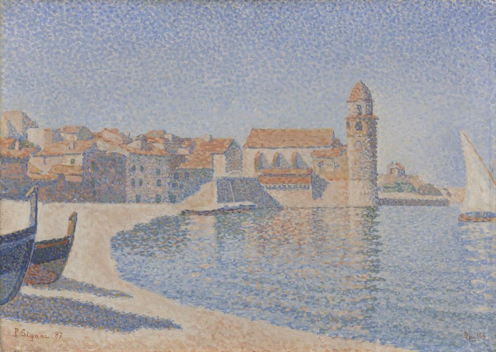 """Harbour Scene"", 1886. Kröller-Müller Museum (Netherlands - Otterlo)."