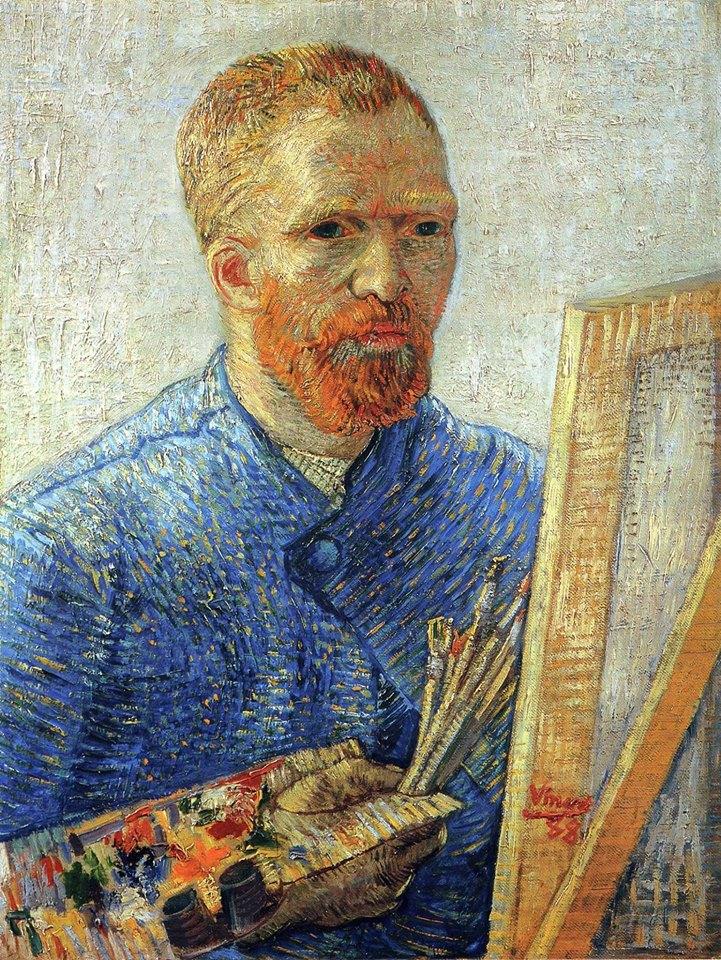 Genio e follia hanno qualcosa in comune: entrambi vivono in un mondo diverso da quello che esiste per gli altri. _ Arthur Schopenhauer _ Autoritratto di Vincent Van Gogh, 1888.
