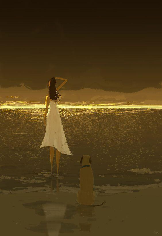 """""""Cosa cerchi?"""" """"Cerco un attimo che valga una vita."""" _ Giacomo Casanova _ Pascal Campion Art."""