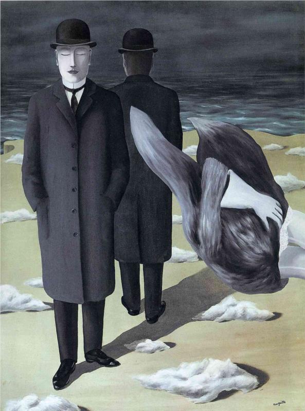 """""""Il significato della notte"""", 1927."""
