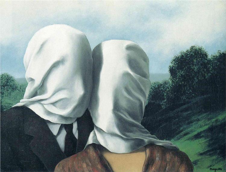 """""""Gli amanti"""", 1928."""